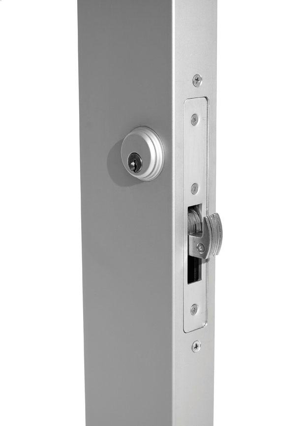 "Type C Lock Our standard deadbolt lock, the heavy-duty Type C features a 1.12"" backset on narrow-stile doors and a 1.5"" backset on medium-stile doors."