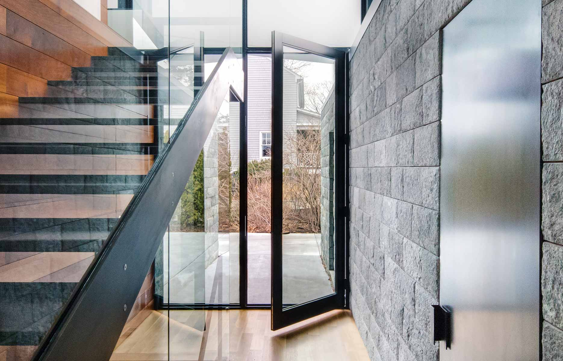 Series 900 Hinged Door Featured on Architizer