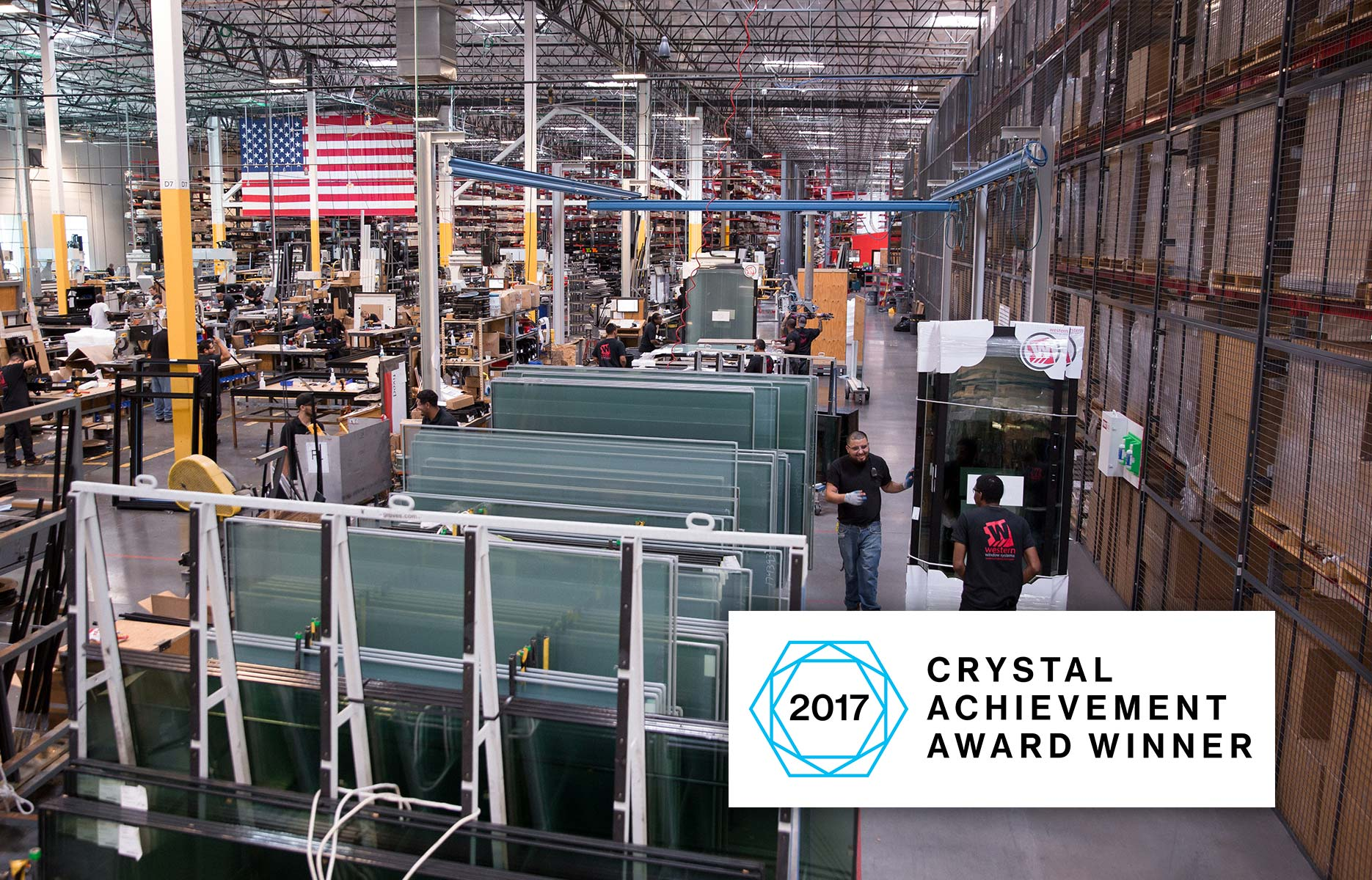 WWS Wins Crystal Achievement Award for Most Innovative Manufacturing Process
