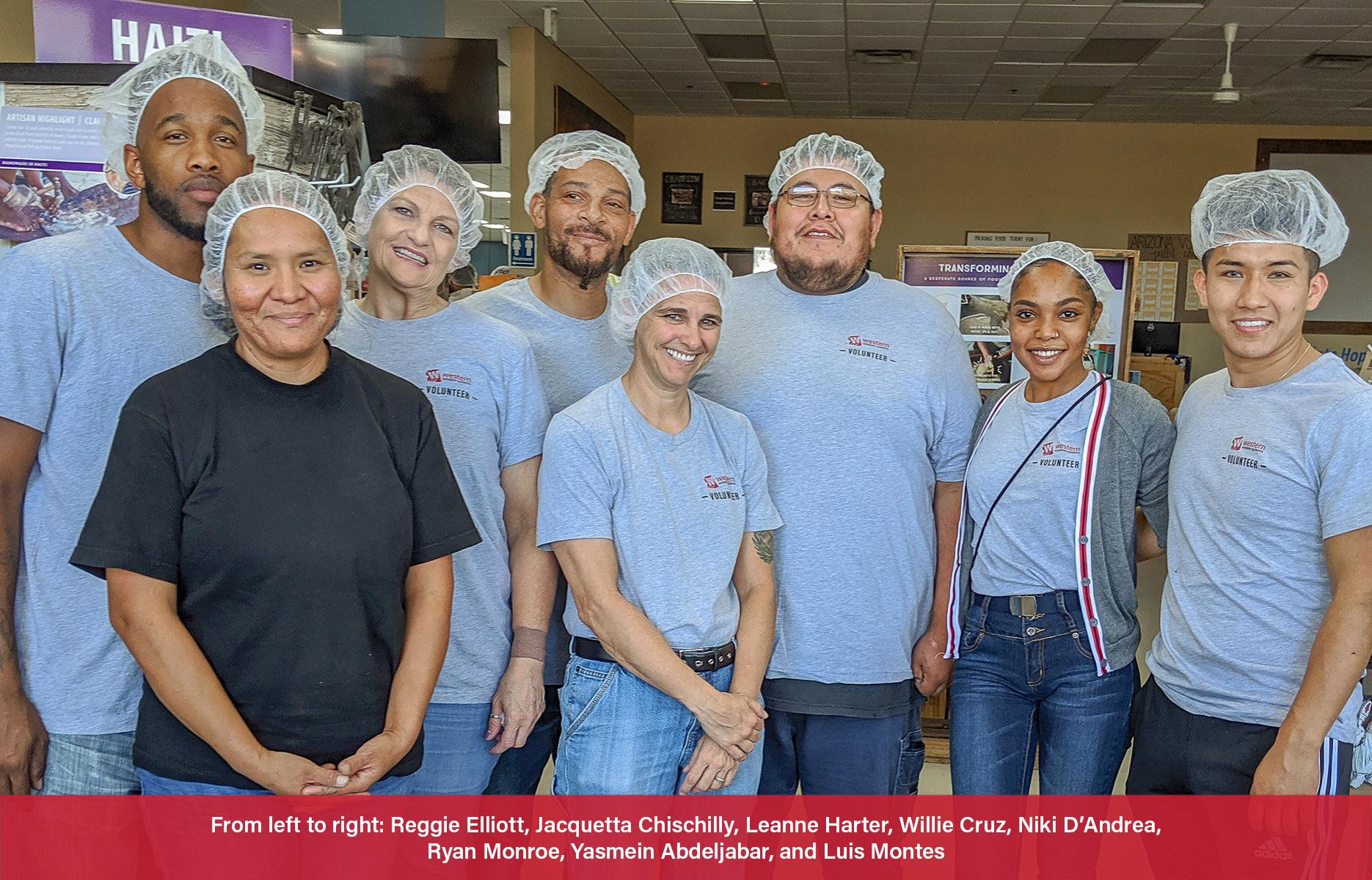 Volunteers Pack Meals for Hungry Children