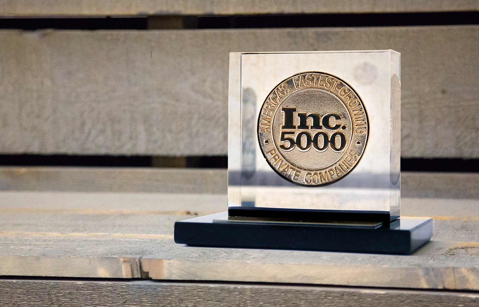 Western Window Systems Named One of America's Fastest-Growing Private Companies on Inc. 5000 List for Second Straight Year