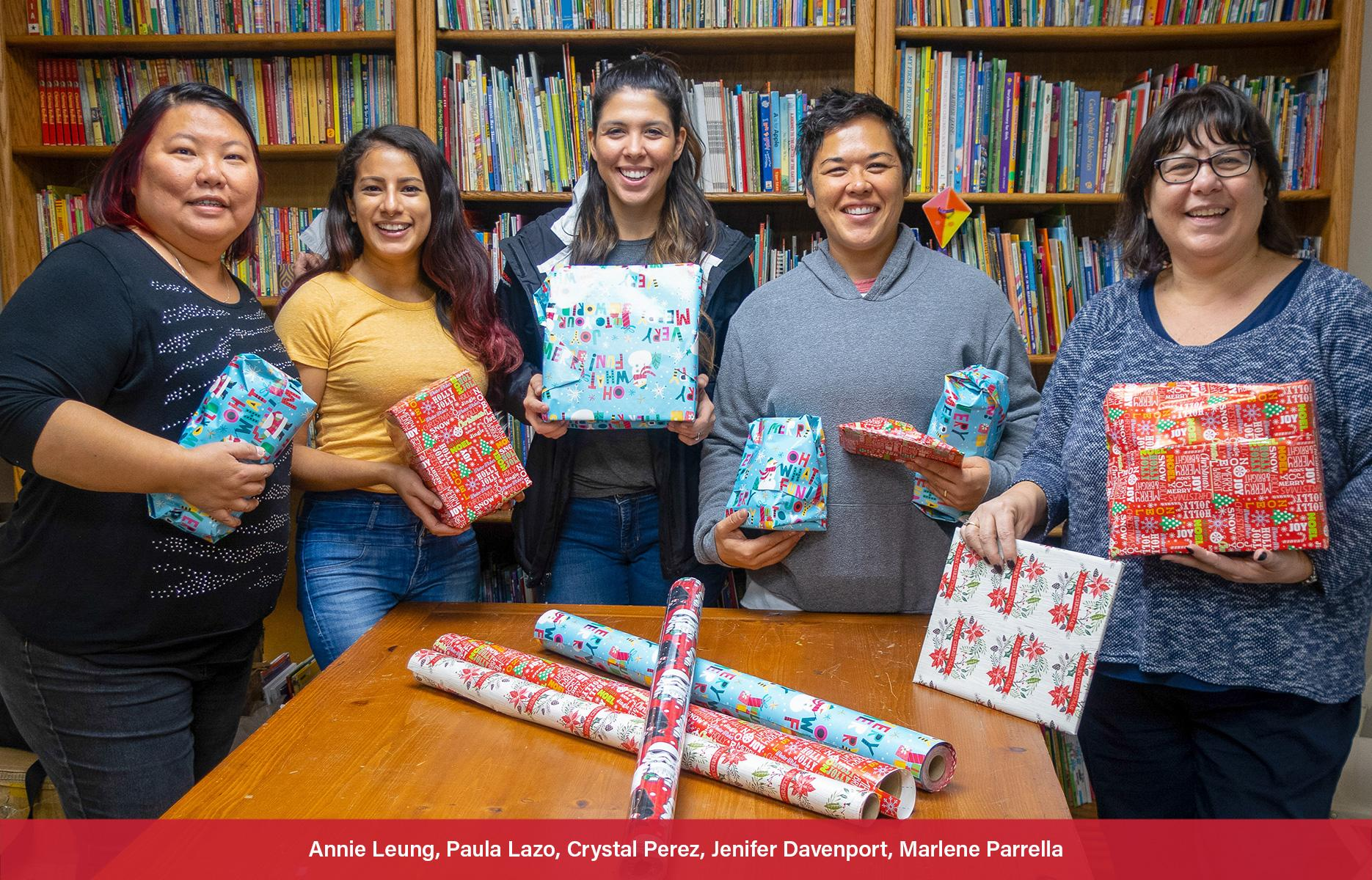 WWS Marketing Team Pitches In to Help Group's Holiday Effort