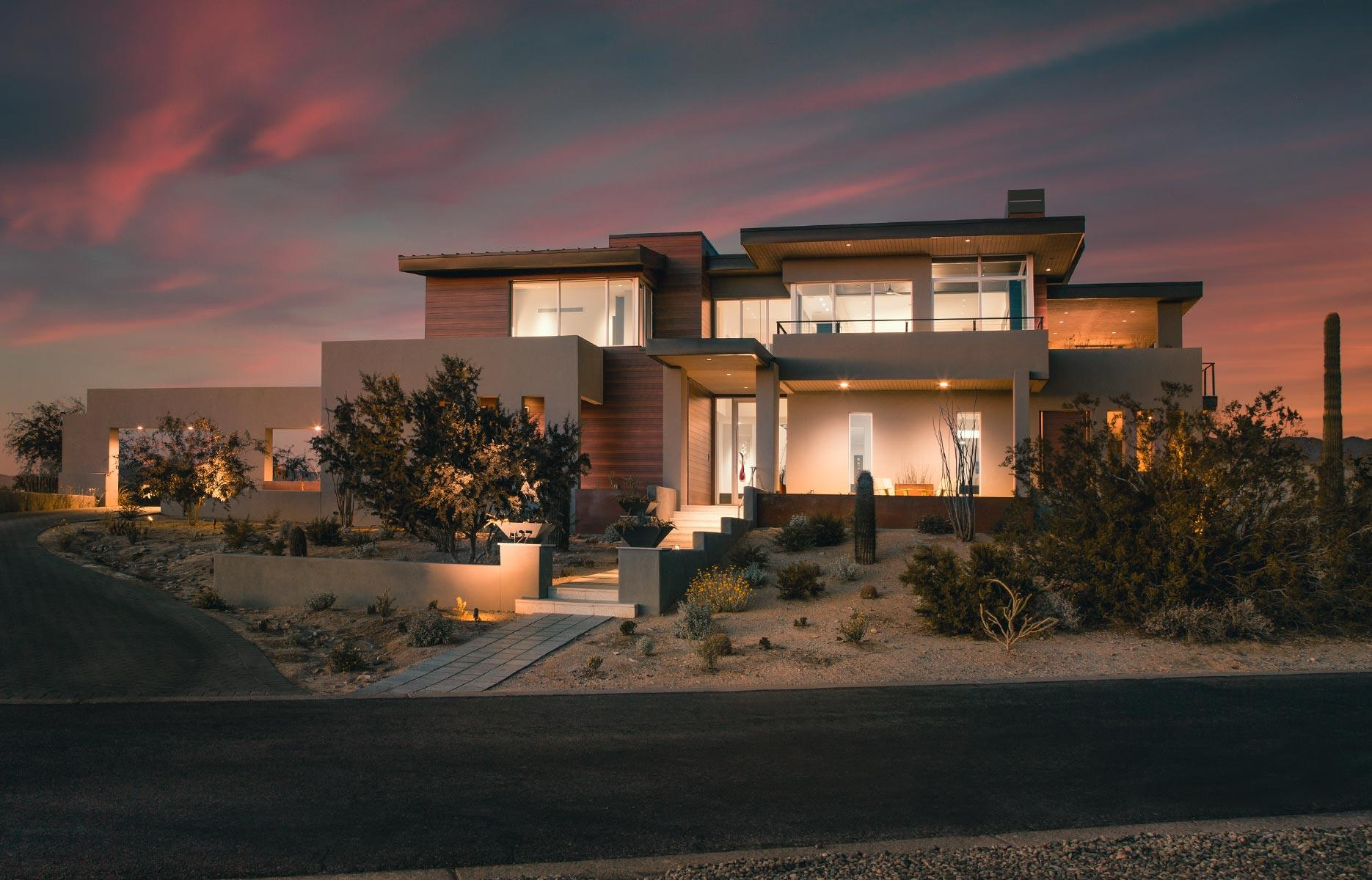 Architect Dale Gardon Discusses Designing His Own Home in Scottsdale
