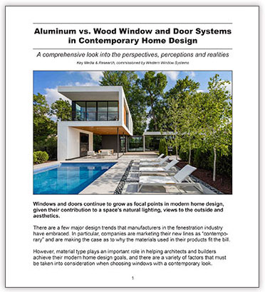 Western Window Systems White Paper Aluminum vs. Wood